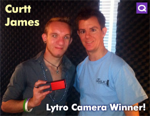 Curtt James Wins the Lytro Camera Giveaway!