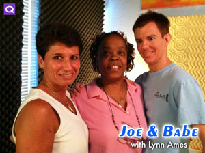 "Lynn Ames on ""Joe and Babe"" -- QTalk America"