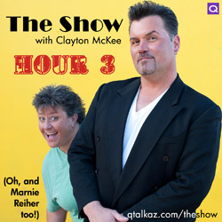 The Show with Clayton McKee - Hour 3
